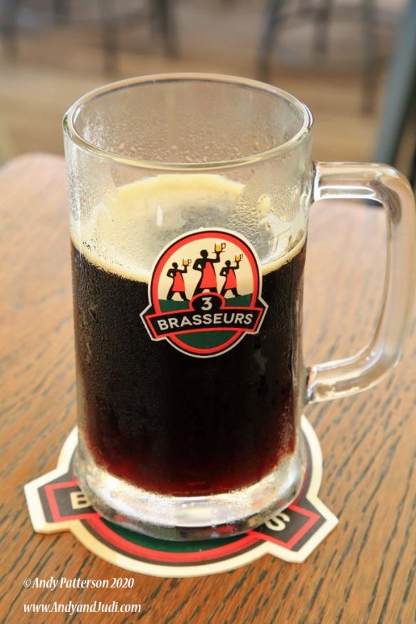 3 Brasseurs brewery Brown Ale