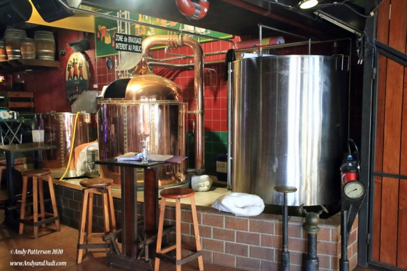 3 Brasseurs brewery equipment