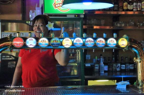 3 Brasseurs brewery taps