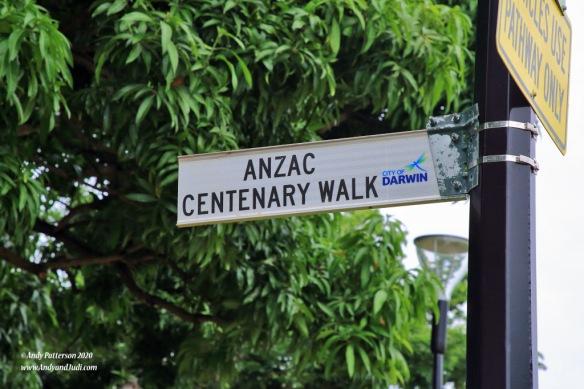 Anzac Centenary Walk on Esplanade