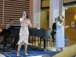 Atrium melodies Bethan & Rosanna