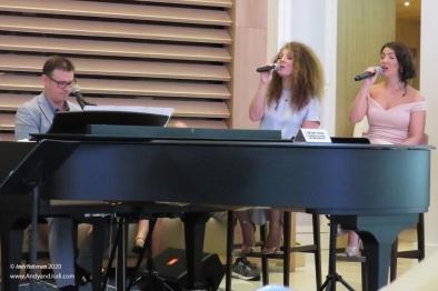 Atrium melodies Bevan Bethan & Rosanna