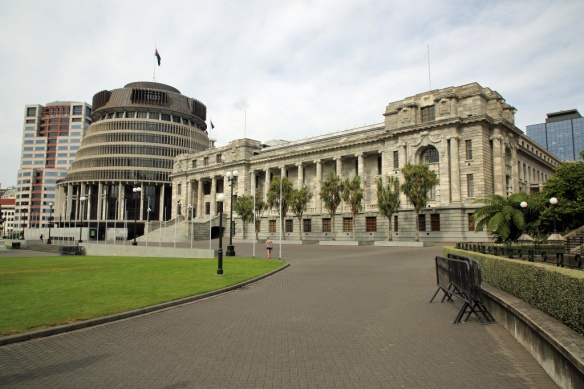 Bowen House, Geehive and Parliament Building