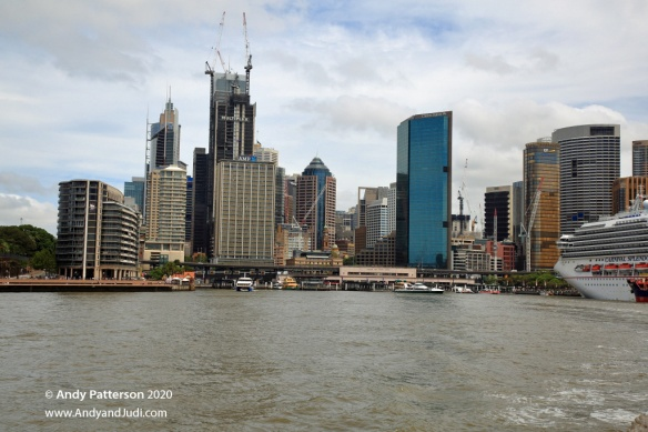 Cruise circular quay and CBD
