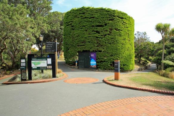 Entrance to Botanical Gardens