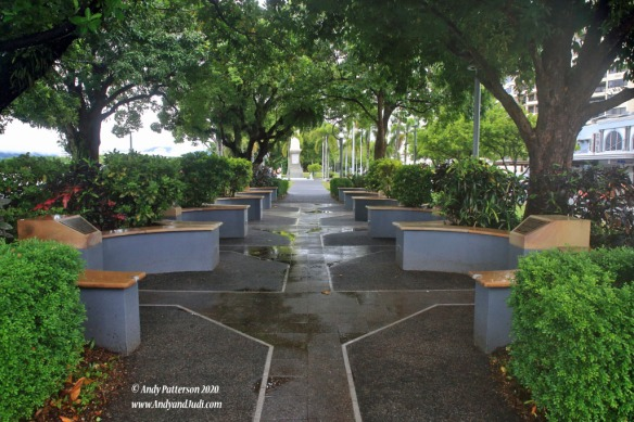 Espalade cenetaph conflict and services memorial