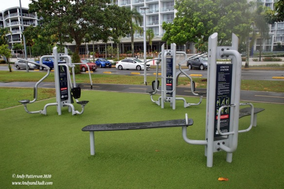 Esplanade exercise equipment 2