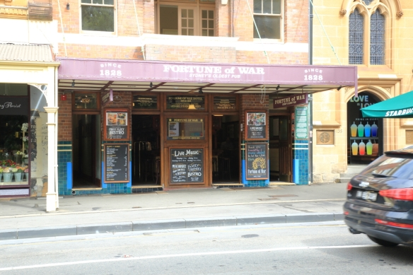 Fortune of War Sydney's oldest pub