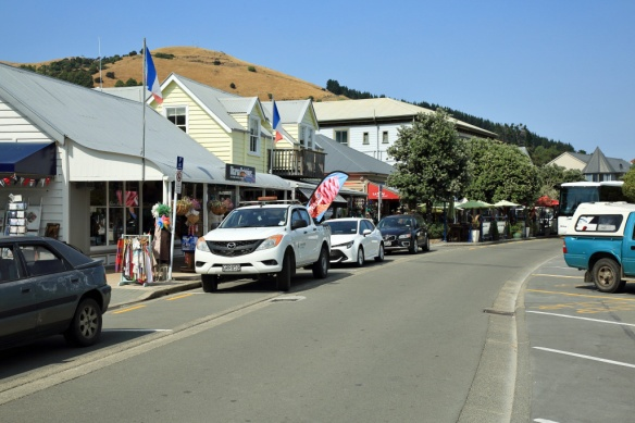 Included Akaroa main street