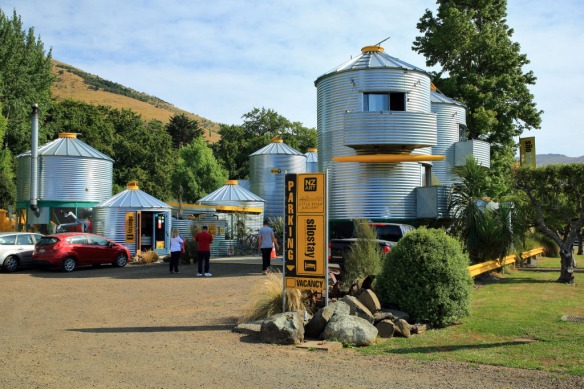 Included hotel made from silos