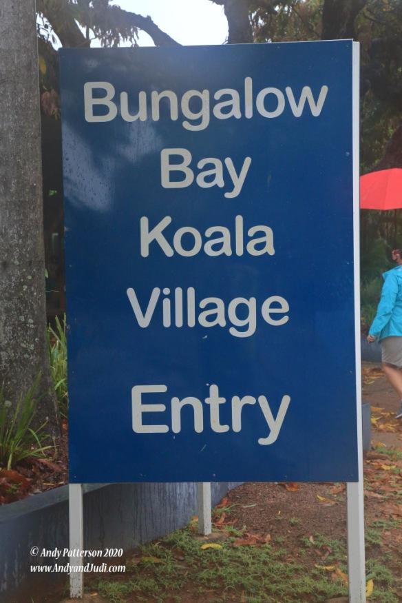 Koala Village sign