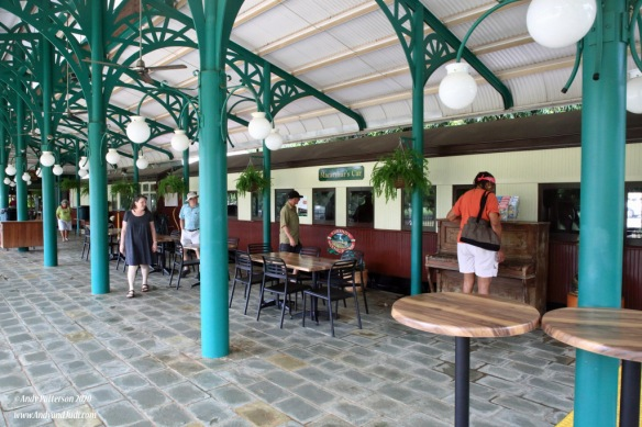Kuranda Railway cafe and old carriages