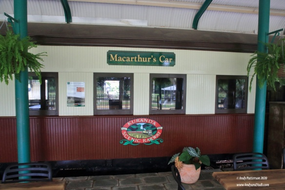 Kuranda Railway historic carriage