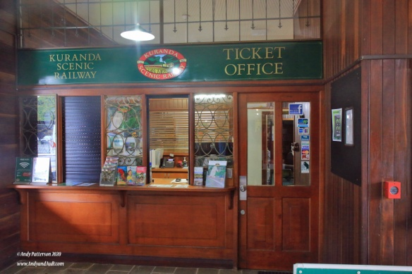 Kuranda Railway ticket office