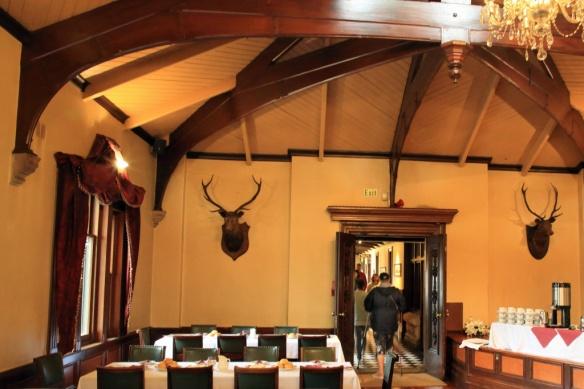 Larnach Castle cafe