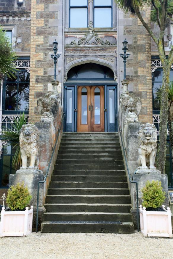 Larnach Castle entrance
