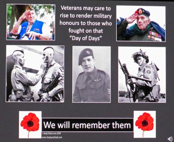 Normandy landings presentation final slide