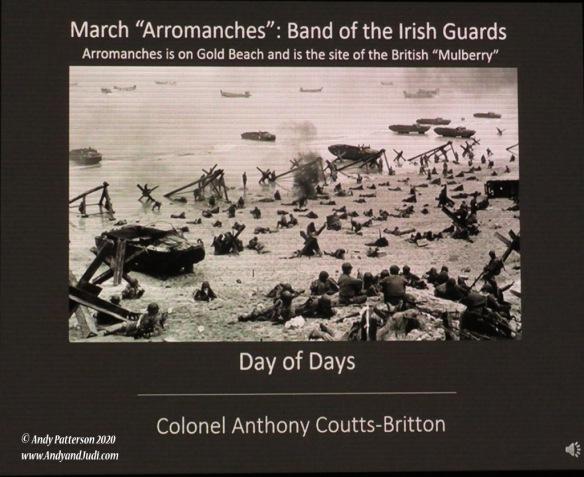 Normandy landings presentation