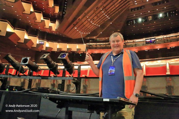 OH Joan Sutherland Theatre orchestra pit conductor Andy