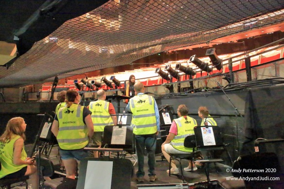 OH Joan Sutherland Theatre orchestra pit conductor stand 2