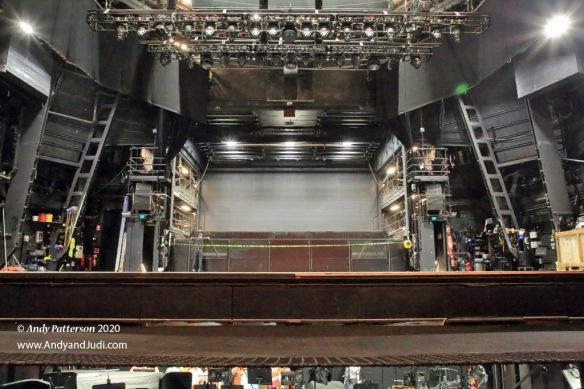OH Joan Sutherland Theatre stage from conductor stand
