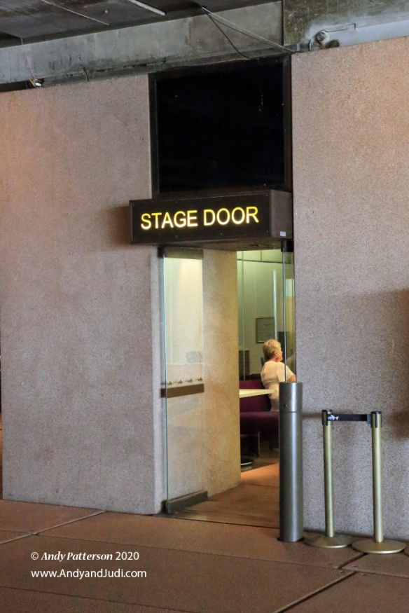 OH Stage Door entrance