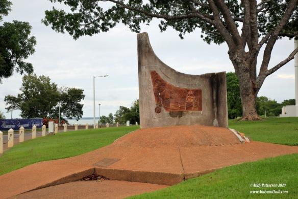 Overland Telegraph memorial