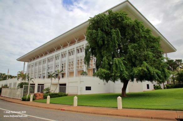 Parliament House rear