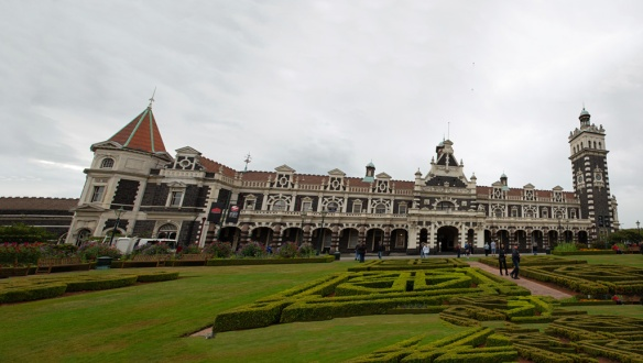 Railway station panorama