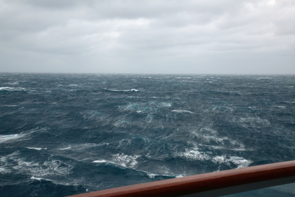 Seas while crossing Tasman