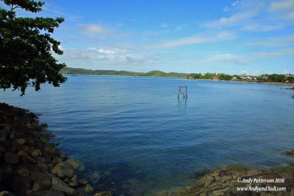 Thursday Is bay with clear water