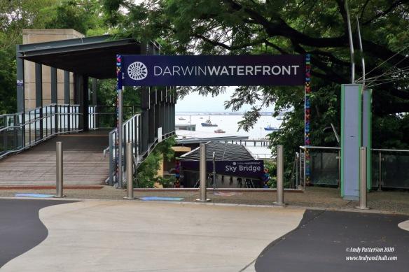 Waterfront entrance via Skybridge