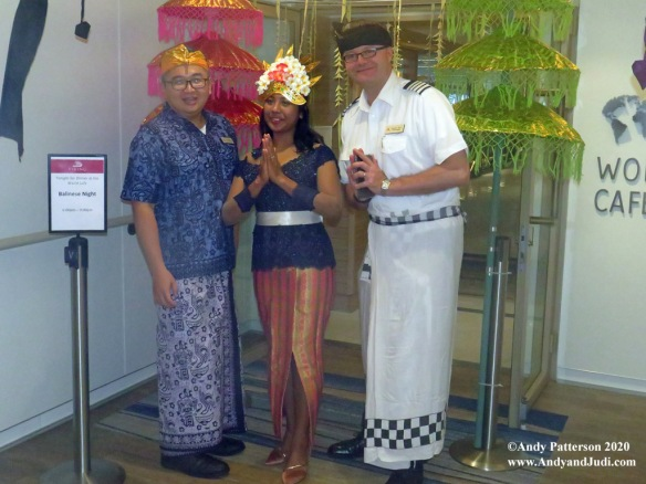 Bali night welcome committee