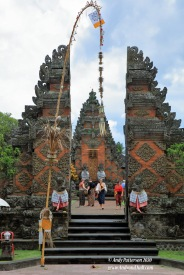 Batuan Hindu Temple entrance