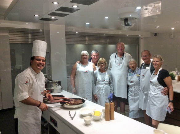 Chef Roberto and all Canadian class