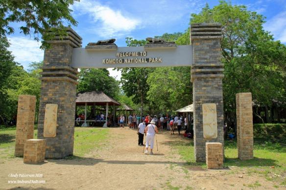 Komodo Is entrance