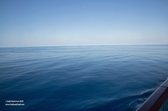 Smooth seas in Indian Ocean