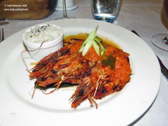 Spicy Indonesian Prawns