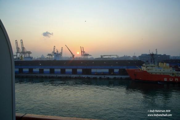Sunrise in Colombo