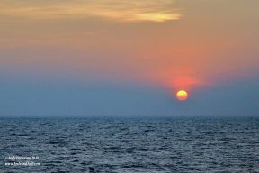 Sunset in Indian Ocean 2