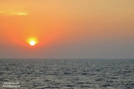 Sunset in Indian Ocean