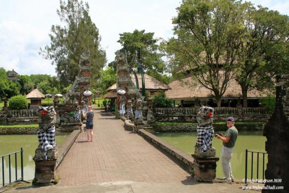 Taman Ayun entry bridge