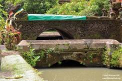 Taman Ayun inner temple entrance bridge