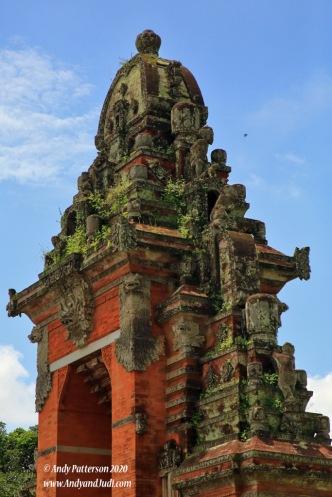 Taman Ayun inner temple entrance stonework