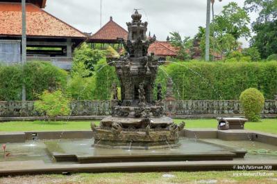 Taman Ayun water fountain