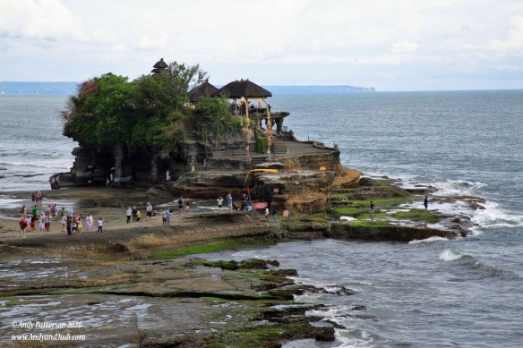 Tanah Lot Temple at low tide 2