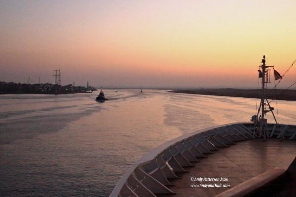 02 Entering Suez Canal
