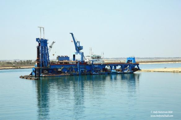 43A Suez Canal dredge