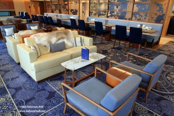 Dk 7 Mansen's comfortable lounge