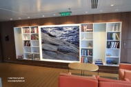 Dk 7 Wintergarden wing lounge library stbd
